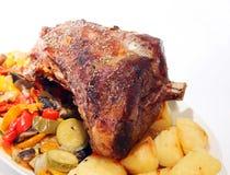 κοινό roast αρνιών Στοκ εικόνα με δικαίωμα ελεύθερης χρήσης