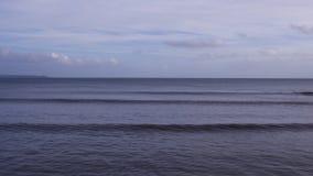 Κοιτάζοντας έξω στη θάλασσα, από Looe, Κορνουάλλη Στοκ Εικόνα