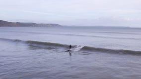 Κοιτάζοντας έξω στη θάλασσα, από Looe, Κορνουάλλη Στοκ φωτογραφία με δικαίωμα ελεύθερης χρήσης