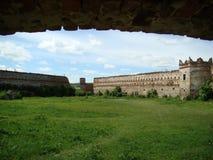Κοιτάξτε επίμονα Selo CastleLviv Oblast, Ουκρανία Στοκ φωτογραφία με δικαίωμα ελεύθερης χρήσης