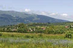 Κοιτάξτε Vitosha στο βουνό από Plana Στοκ Εικόνες