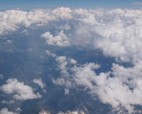 Κοιλάδα Άλπεων Στοκ Εικόνα