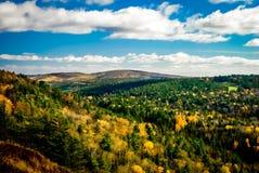 Κοιλάδα βουνών Brockway Στοκ φωτογραφία με δικαίωμα ελεύθερης χρήσης