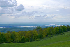 Κοιλάδα Δούναβη στη Ρουμανία Στοκ φωτογραφίες με δικαίωμα ελεύθερης χρήσης