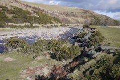 Κοιλάδα και ο ποταμός Breamish, Northumberland Ingram Στοκ Εικόνες