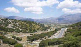 Κοιλάδα, νησί της Κρήτης, Ελλάδα Στοκ εικόνες με δικαίωμα ελεύθερης χρήσης