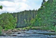 κοιλάδα ποταμών Στοκ Φωτογραφία