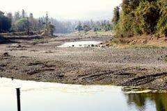 κοιλάδα ποταμών Στοκ εικόνα με δικαίωμα ελεύθερης χρήσης
