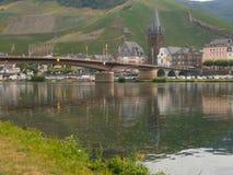 Κοιλάδα ποταμών Bernkastel, Γερμανία Στοκ Φωτογραφίες