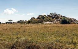 Κοιλάδα στην Τανζανία Στοκ εικόνα με δικαίωμα ελεύθερης χρήσης