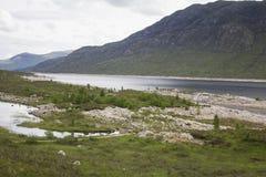 Κοιλάδα στη Σκωτία Στοκ Εικόνα