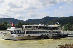 Κοιλάδα της Αυστρίας, Δούναβης Στοκ Φωτογραφία