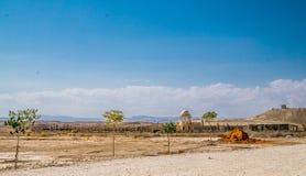 κοιλάδα της Ιορδανίας Στοκ Φωτογραφίες
