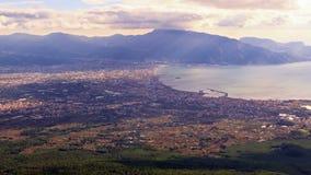 Κοιλάδα της Πομπηίας, άποψη από το Βεζούβιο Ιταλία 4 φιλμ μικρού μήκους