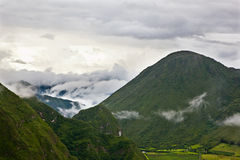 Κοιλάδα του ηφαιστείου Στοκ Εικόνα