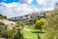 Κοιλάδα του Ισραήλ Ιερουσαλήμ Hinnom στις 4 Απριλίου 2015 Στοκ Εικόνες