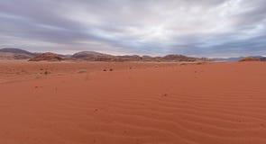 Κοιλάδα του φεγγαριού στην Ιορδανία Στοκ Εικόνες