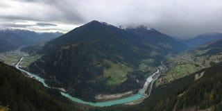 Κοιλάδα του Tirol στοκ εικόνες