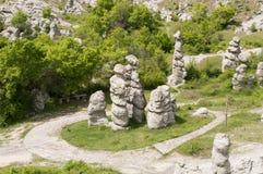 Κοιλάδα των κουκλών πετρών Στοκ Εικόνες