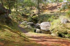 Κοιλάδα Χ encimadas Piedras Στοκ φωτογραφία με δικαίωμα ελεύθερης χρήσης