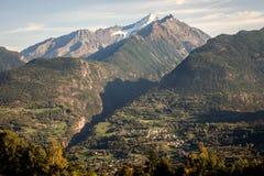 Κοιλάδα Aosta, Saint-Nicolas, Ιταλία Στοκ φωτογραφίες με δικαίωμα ελεύθερης χρήσης