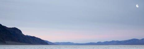 Κοιλάδα Badwater Playa θανάτου Στοκ Φωτογραφίες