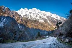Κοιλάδα Chopta στο βόρειο Sikkim Ινδία Στοκ Εικόνες