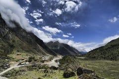 Κοιλάδα Chopta, Sikkim, Ινδία Στοκ Εικόνες