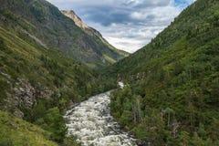 Κοιλάδα Chulcha Στοκ εικόνα με δικαίωμα ελεύθερης χρήσης