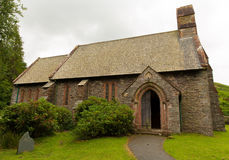 Κοιλάδα Cumbria Αγγλία UK Martindale εκκλησιών του ST Peters Στοκ Εικόνα
