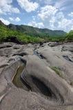 Κοιλάδα DA Lua στο εθνικό πάρκο DOS Veadeiros Chapada Στοκ Φωτογραφίες