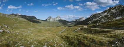 Κοιλάδα Durmitor Στοκ εικόνες με δικαίωμα ελεύθερης χρήσης