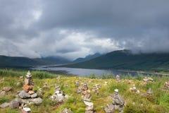 Κοιλάδα Glencoe στοκ εικόνα