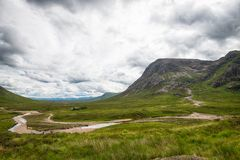 Κοιλάδα Glencoe στοκ φωτογραφίες με δικαίωμα ελεύθερης χρήσης