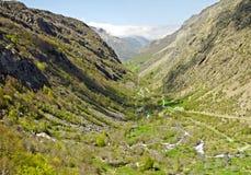 Κοιλάδα Heas σε γαλλικό Hautes Πυρηναία Στοκ φωτογραφία με δικαίωμα ελεύθερης χρήσης