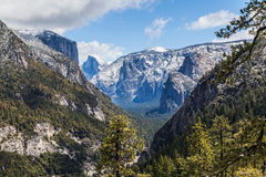 Κοιλάδα IV Yosemite Στοκ φωτογραφία με δικαίωμα ελεύθερης χρήσης