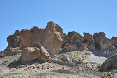 Κοιλάδα Kala-Kala η πόλη Oruro Στοκ Εικόνα
