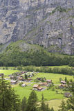 Κοιλάδα Lauterbrunnen Στοκ εικόνα με δικαίωμα ελεύθερης χρήσης