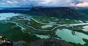 Κοιλάδα Rapa Στοκ φωτογραφία με δικαίωμα ελεύθερης χρήσης