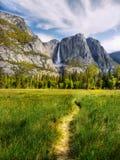 Κοιλάδα Yosemite, εθνικό πάρκο στοκ εικόνα με δικαίωμα ελεύθερης χρήσης