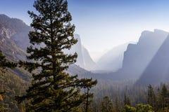 Κοιλάδα Yosemite, εθνικό πάρκο Yosemite, Καλιφόρνια, ΗΠΑ Στοκ Εικόνες