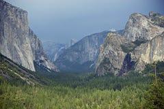 Κοιλάδα Yosemite Στοκ Εικόνα