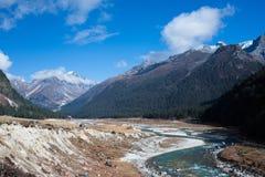 Κοιλάδα Yumthang, Ινδία Στοκ Εικόνες