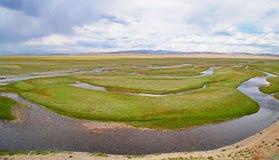 Κοιλάδα Yustyd στοκ εικόνα με δικαίωμα ελεύθερης χρήσης