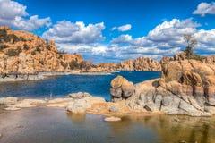 Κοιλάδες λιμνών AZ-Prescott-Watson Στοκ εικόνες με δικαίωμα ελεύθερης χρήσης