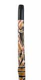 Κοιλαμένος τερμίτης ευκάλυπτος Didgeridoo. στοκ φωτογραφία