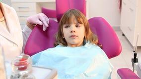 Κοιλότητες ελέγχου οδοντιάτρων απόθεμα βίντεο
