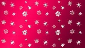ΚΟΚΚΙΝΟ χιόνι σύστασης υποβάθρου διανυσματική απεικόνιση