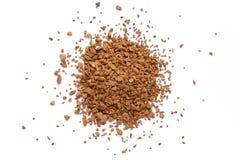 Κοκκοποιημένος στιγμιαίος καφές απομονωμένο σκόνη #2 στοκ φωτογραφία