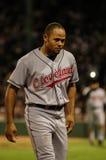 Κοκοφοίνικες οι τραγανοί Cleveland Indians Στοκ εικόνα με δικαίωμα ελεύθερης χρήσης